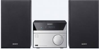 Микросистема Sony CMT-SBT20 серебристый/черный (CMTSBT20.RU1)