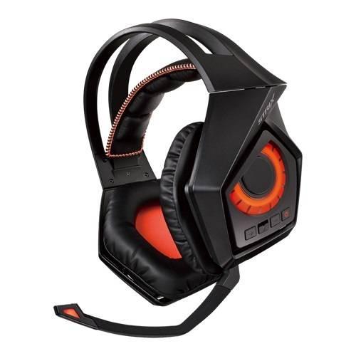 Наушники с микрофоном Asus ROG Strix Wireless черный (90YH00S1-B3UA00) - фото 2