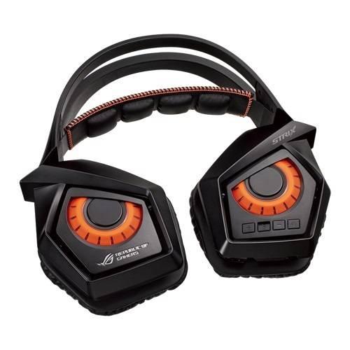 Наушники с микрофоном Asus ROG Strix Wireless черный (90YH00S1-B3UA00) - фото 5