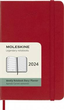Еженедельник Moleskine Classic WKNT красный (DHF212WN2)
