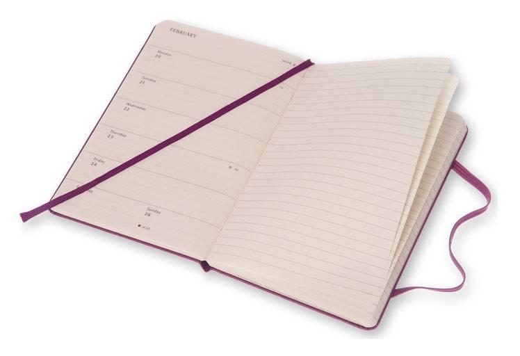 Еженедельник Moleskine CLASSIC WKNT POCKET ,карманный ,144стр. ,фиолетовый - фото 5