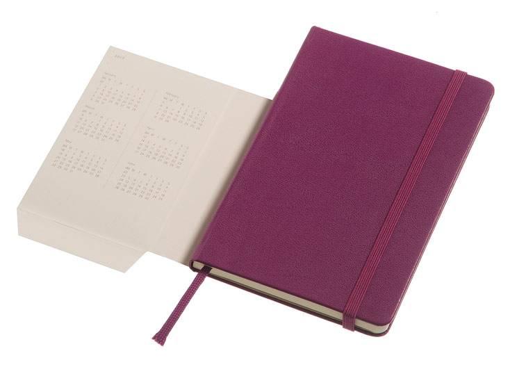 Еженедельник Moleskine CLASSIC WKNT POCKET ,карманный ,144стр. ,фиолетовый - фото 6
