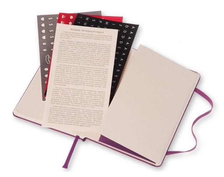 Еженедельник Moleskine CLASSIC WKNT POCKET ,карманный ,144стр. ,фиолетовый - фото 7