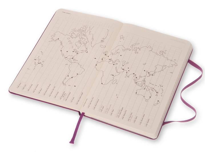 Еженедельник Moleskine CLASSIC WKNT LARGE ,универсальный ,144стр. ,фиолетовый - фото 3