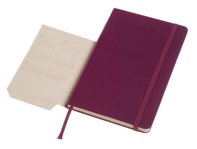 Еженедельник Moleskine CLASSIC WKNT LARGE ,универсальный ,144стр. ,фиолетовый - фото 5