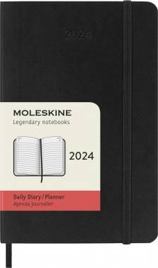 Ежедневник Moleskine CLASSIC SOFT черный (DSB12DC2)