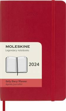Ежедневник Moleskine CLASSIC SOFT красный (DSF212DC2)