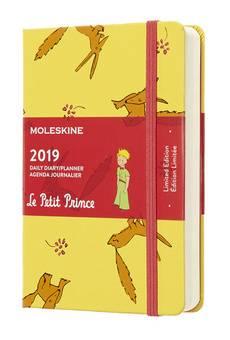 Ежедневник Moleskine Limited Edition L` Petit Prince желтый (DPP12DC2)