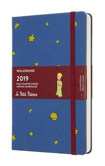 Ежедневник Moleskine Limited Edition L` Petit Prince синий (DPP12DC3)