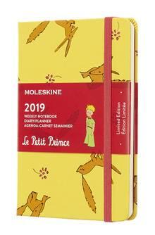 Еженедельник Moleskine Limited Edition L` Petit Prince WKNT желтый (DPP12WN2)