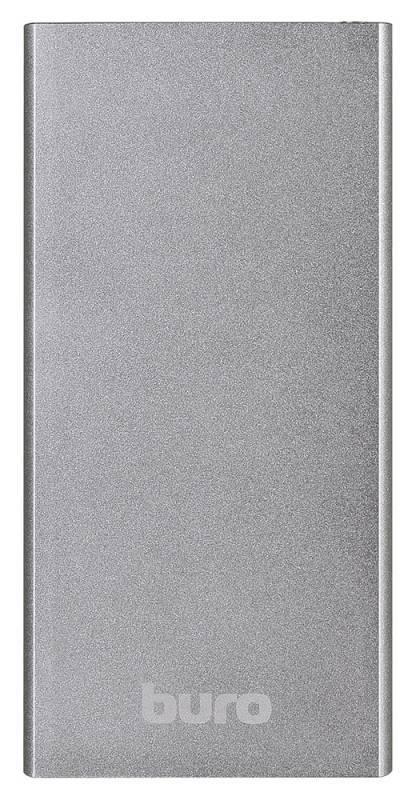 Мобильный аккумулятор BURO RA-12000-AL серебристый - фото 2