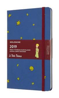 Еженедельник Moleskine Limited Edition L` Petit Prince WKNT синий (DPP12WN3)