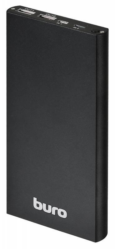 Мобильный аккумулятор BURO RA-12000-AL-BK черный - фото 1