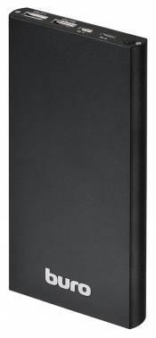 Мобильный аккумулятор BURO RA-12000-AL-BK черный
