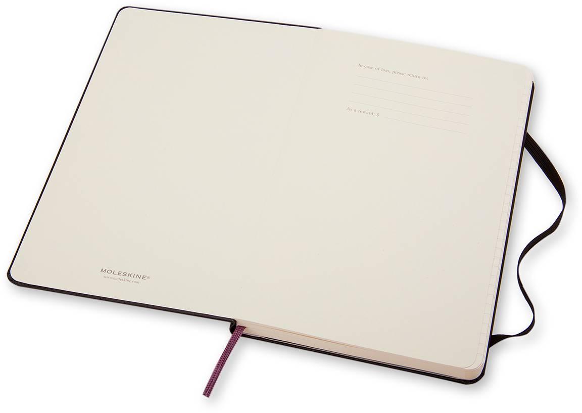 Блокнот Moleskine CLASSIC POCKET 90x140мм 192стр. линейка твердая обложка фиксирующая резинка черный - фото 4