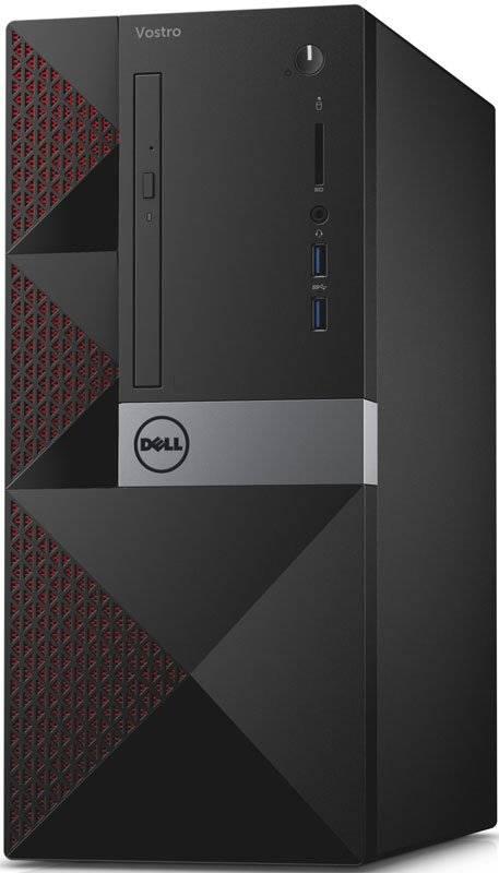 Системный блок Dell Vostro 3650 черный - фото 1