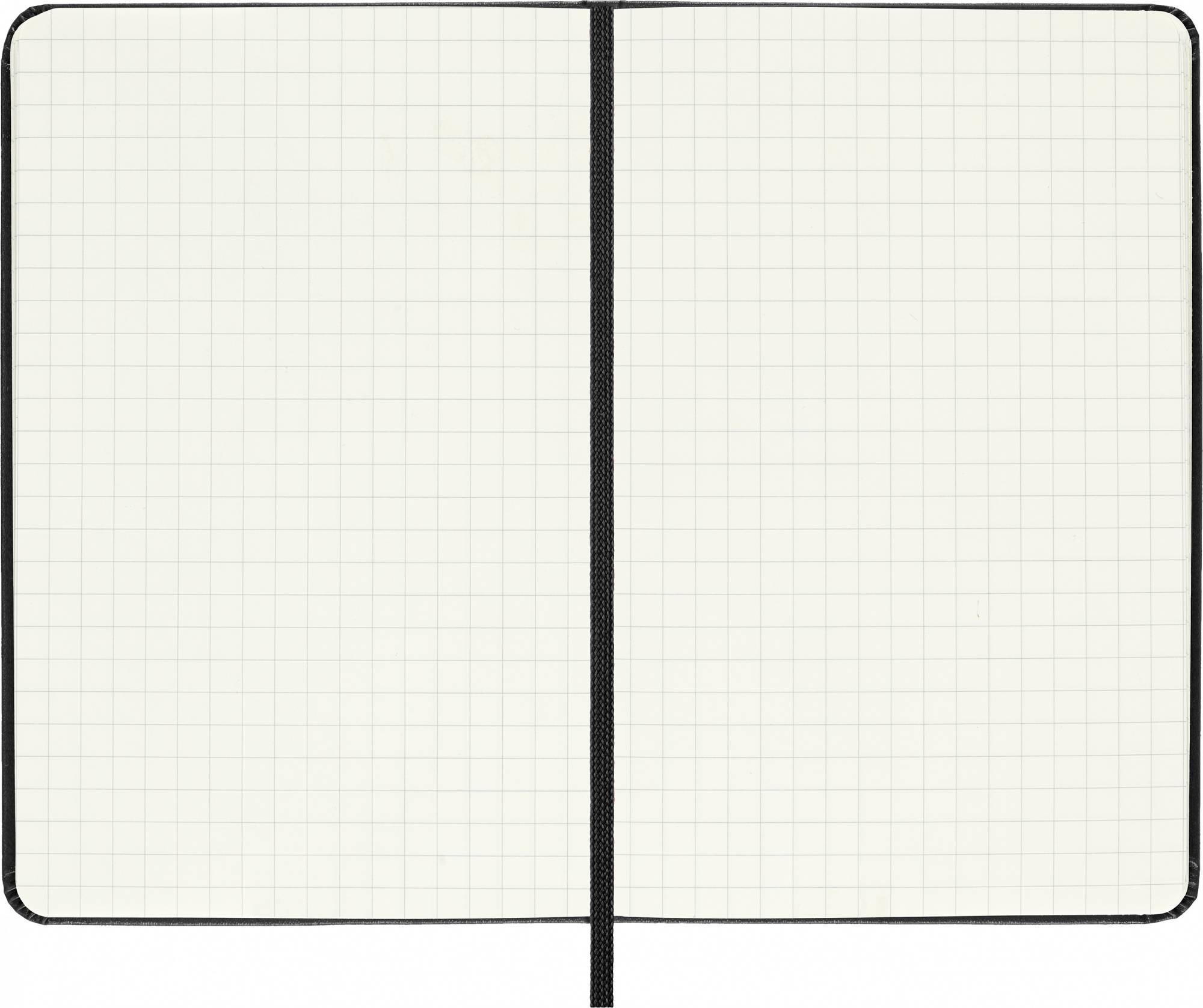 Блокнот Moleskine CLASSIC POCKET 90x140мм 192стр. клетка твердая обложка фиксирующая резинка черный - фото 4