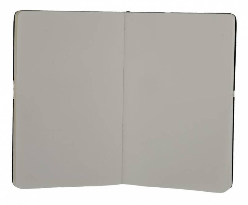 Блокнот Moleskine CLASSIC LARGE 130х210мм 240стр. нелинованный твердая обложка фиксирующая резинка черный - фото 3