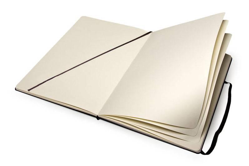 Блокнот Moleskine SKETCHBOOK POCKET 90x140мм 80стр. фиксирующая резинка черный - фото 2