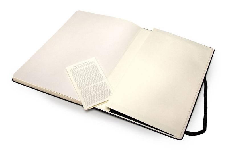 Блокнот Moleskine SKETCHBOOK POCKET 90x140мм 80стр. фиксирующая резинка черный - фото 3