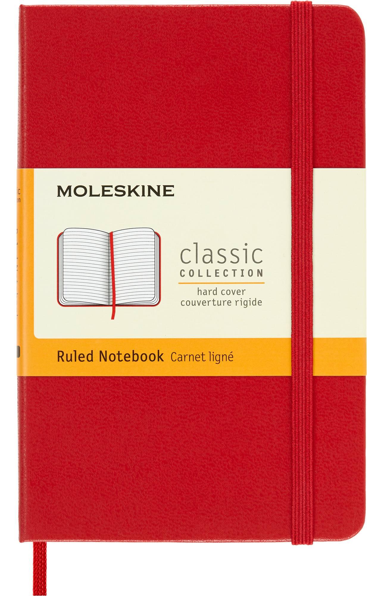 Блокнот Moleskine CLASSIC POCKET красный - фото 1