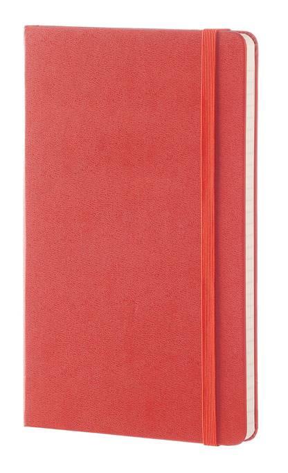 Блокнот Moleskine CLASSIC LARGE 130х210мм 240стр. линейка твердая обложка фиксирующая резинка оранжевый - фото 2