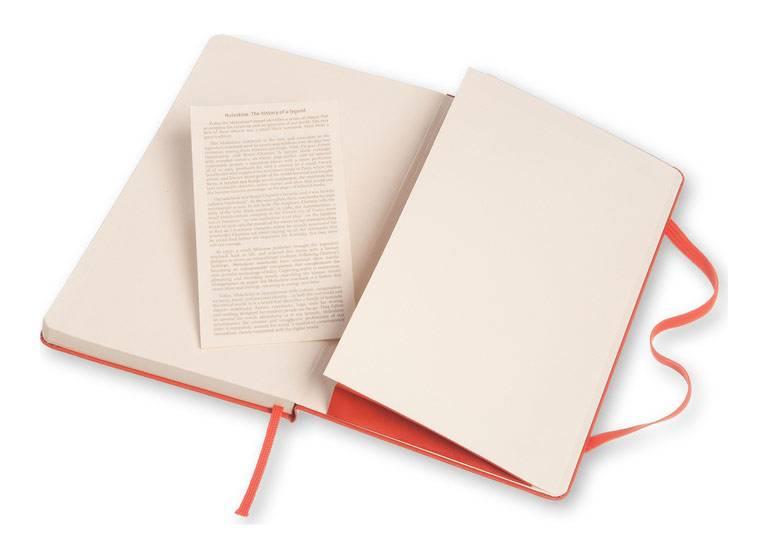 Блокнот Moleskine CLASSIC LARGE 130х210мм 240стр. линейка твердая обложка фиксирующая резинка оранжевый - фото 5