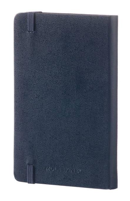 Блокнот Moleskine CLASSIC POCKET 90x140мм 192стр. линейка твердая обложка фиксирующая резинка синий сапфир - фото 6