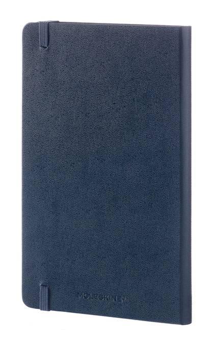 Блокнот Moleskine CLASSIC LARGE 130х210мм 240стр. линейка твердая обложка фиксирующая резинка синий сапфир - фото 6