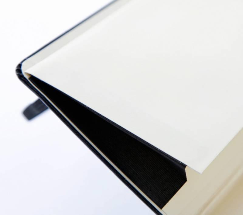 Блокнот Moleskine CLASSIC SOFT 190х250мм 192стр. нелинованный мягкая обложка фиксирующая резинка черный - фото 4
