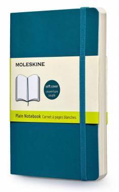 Блокнот Moleskine CLASSIC SOFT Pocket бирюзовый (QP613B6)