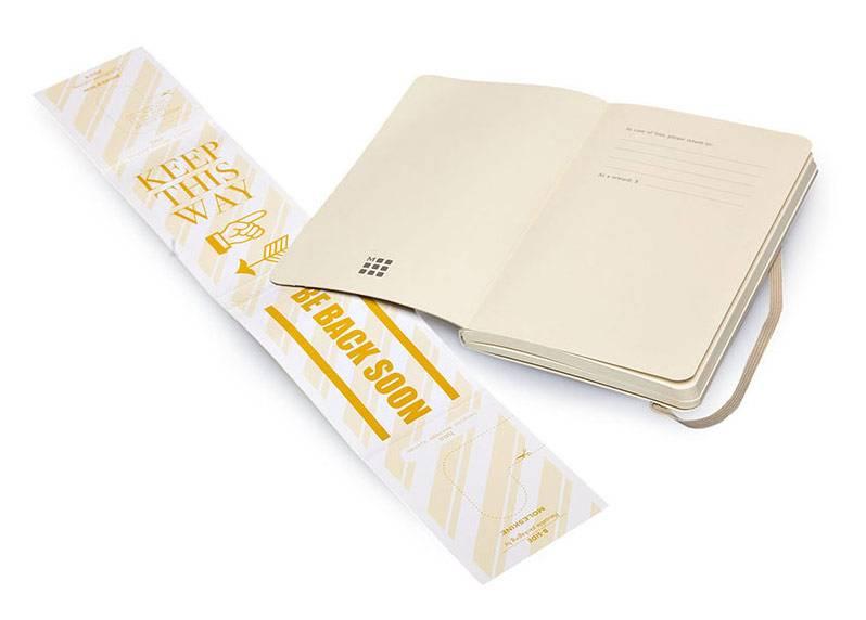Блокнот Moleskine CLASSIC SOFT 130х210мм 192стр. нелинованный мягкая обложка фиксирующая резинка бежевый - фото 5