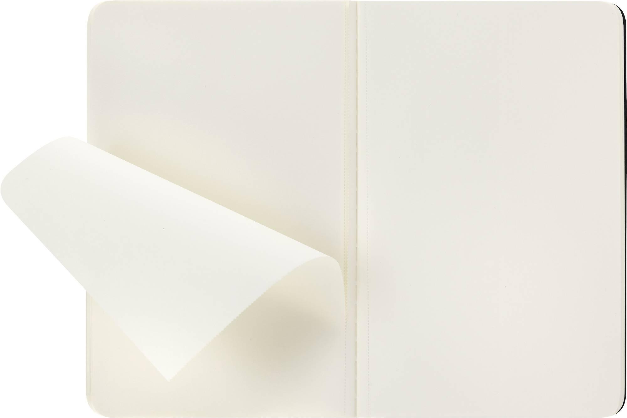 Блокнот Moleskine CAHIER JOURNAL 90x140мм обложка картон 64стр. нелинованный черный (3шт) - фото 3