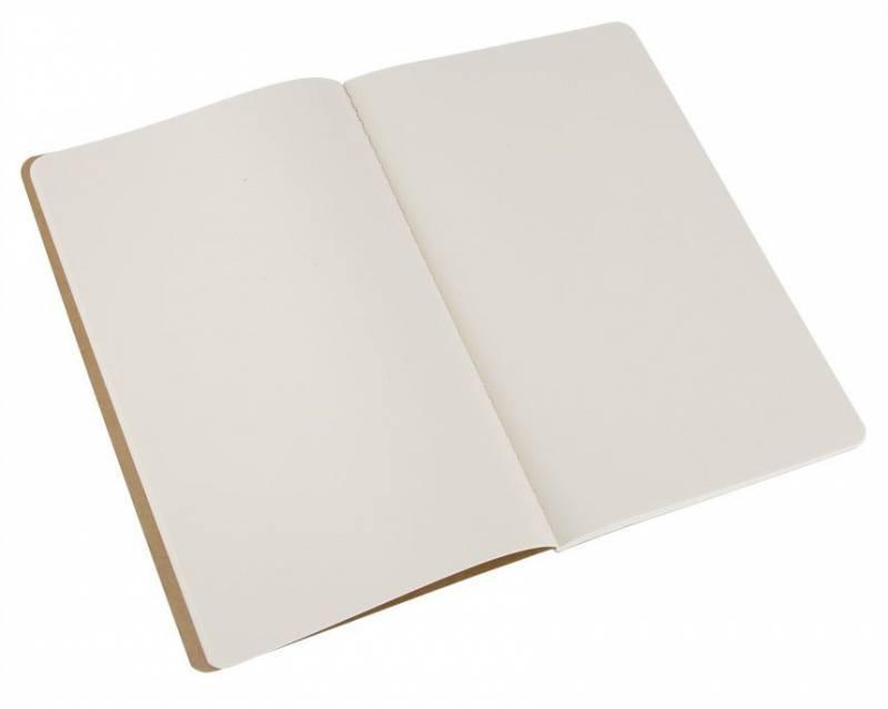 Блокнот Moleskine CAHIER JOURNAL 130х210мм обложка картон 80стр. нелинованный бежевый (3шт) - фото 2