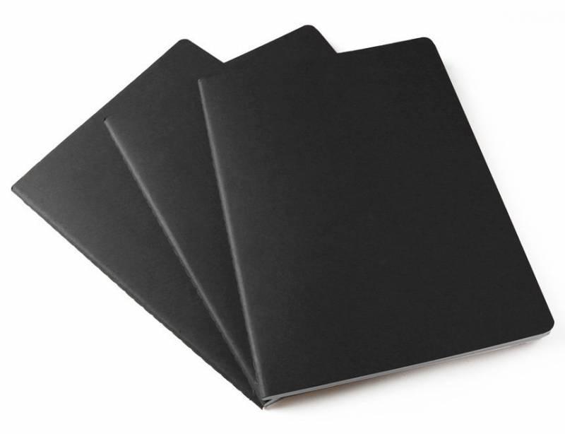 Блокнот Moleskine CAHIER JOURNAL 190х250мм обложка картон 120стр. линейка бежевый (3шт) - фото 3