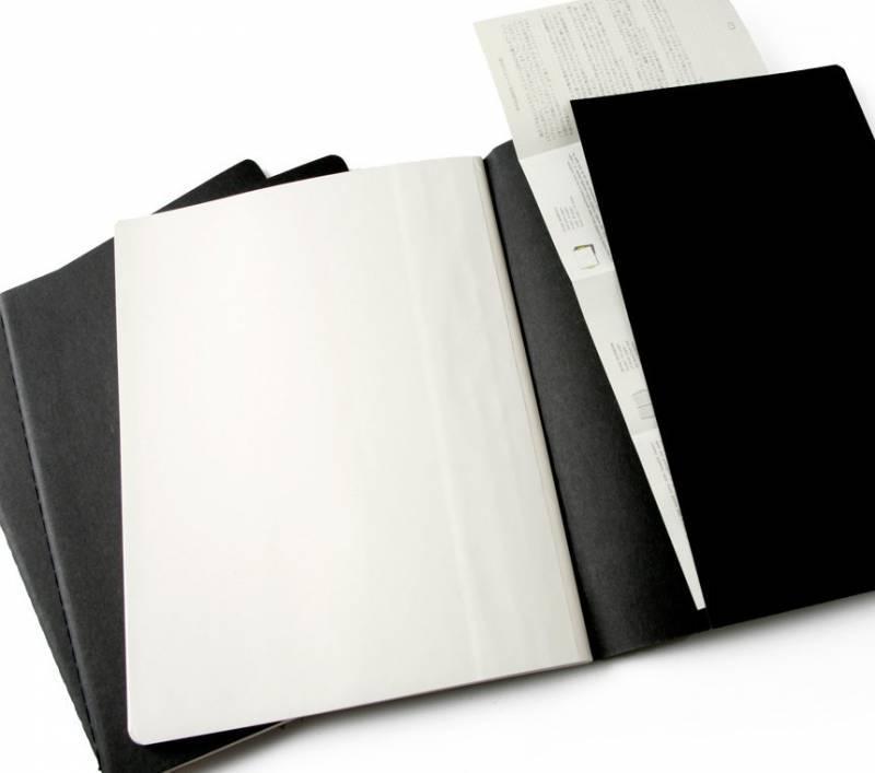Блокнот Moleskine CAHIER JOURNAL 190х250мм обложка картон 120стр. линейка бежевый (3шт) - фото 4