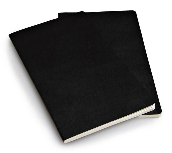 Блокнот Moleskine VOLANT 130х210мм 96стр. линейка мягкая обложка черный (2шт) - фото 4