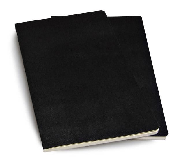 Блокнот Moleskine VOLANT 130х210мм 96стр. нелинованный мягкая обложка черный (2шт) - фото 4