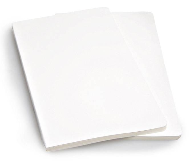 Блокнот Moleskine VOLANT 130х210мм 96стр. нелинованный мягкая обложка белый (2шт) - фото 4