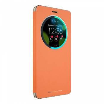 Чехол Asus View Flip Cover, для Asus ZenFone ZS570KL, оранжевый (90AC01E0-BCV008)