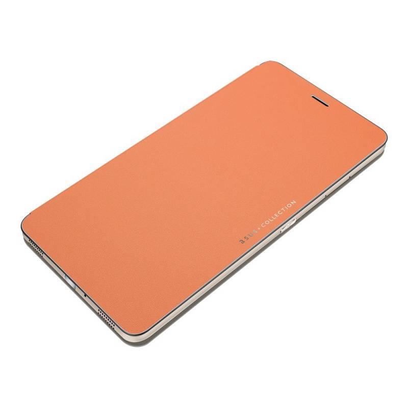 Чехол Asus Folio Cover, для Asus ZenFone ZU680KL, оранжевый (90AC01I0-BCV003) - фото 1