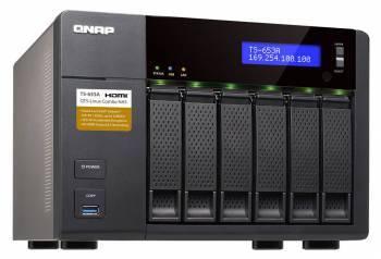 Сетевое хранилище NAS Qnap TS-653A-4G