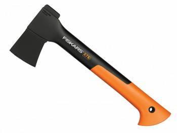 Топор Fiskars X7-XS черный/оранжевый (1015618)