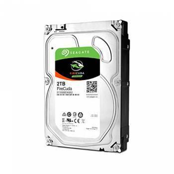 Жесткий диск Seagate Firecuda ST2000DX002, объем 2Tb, форм-фактор 3.5, буферная память 64МБ, скорость вращения шпинделя 7200 об/мин, интерфейс SATA-III