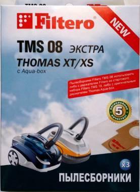 Пылесборники Filtero TMS 08 (3) ЭКСТРА