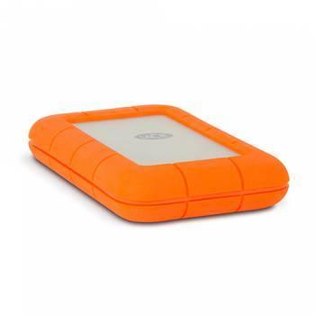Внешний жесткий диск 2Tb Lacie STEV2000400 Rugged V2 оранжевый USB 3.0