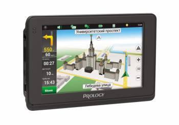 """GPS-навигатор Prology iMAP-4500 4.3"""" черный"""