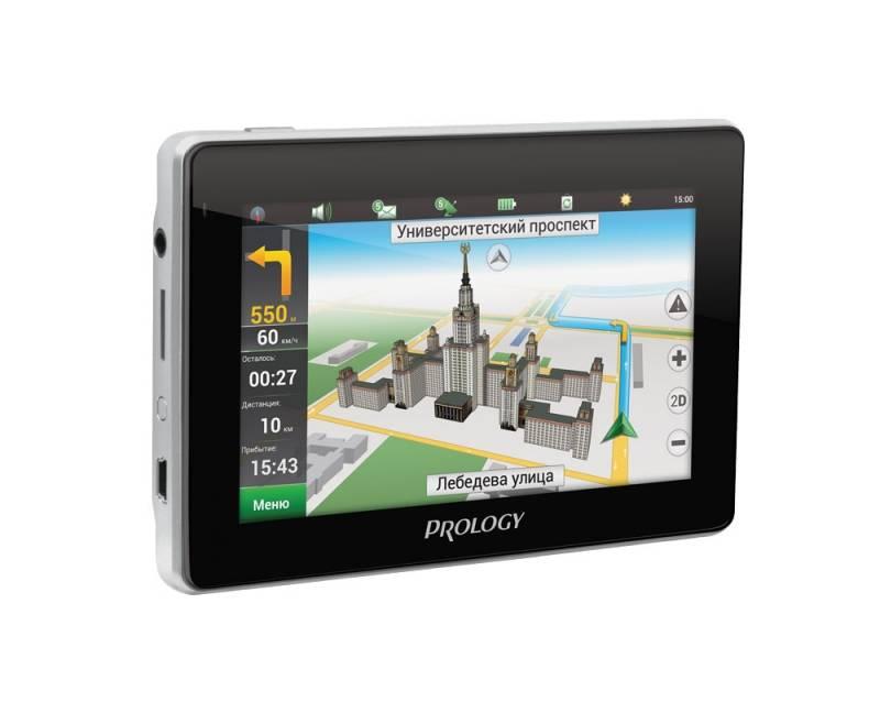 """GPS-навигатор Prology iMAP-4800 4.3"""" черный - фото 1"""