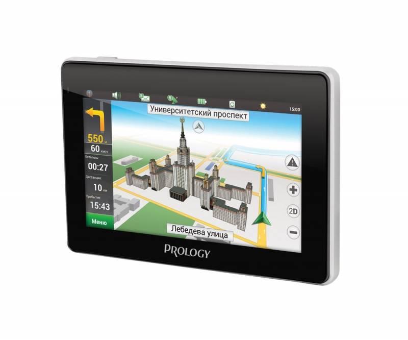 """GPS-навигатор Prology iMAP-4800 4.3"""" черный - фото 2"""