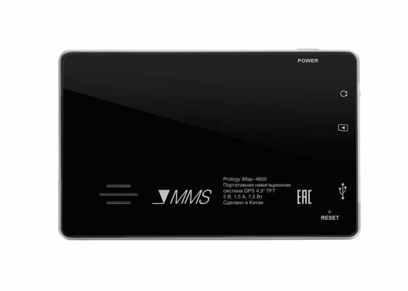 """GPS-навигатор Prology iMAP-4800 4.3"""" черный - фото 3"""